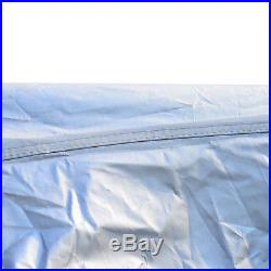 Outsunny Outdoor 10x20ft Pop Up Party Tent Canopy Gazebo With Mesh Apron White