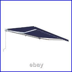 Patio Awning Canopy Retractable Deck Door Outdoor Sun Shade Shelter 13 x 10 Feet
