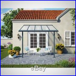Patio Cover Awning Garden 3m X 3m Outdoor Canopy Shelter UV Protection Carport