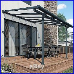 Patio Cover Awning Garden 3m X 6.5m Outdoor Canopy Shelter UV Protection Carport