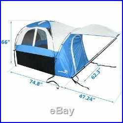 Peaktop Truck Tents for Mid Size Truck Bed Tent Inner&Outer 2 in 1