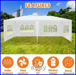 Pop-Up Gazebo Tent Instant with Mosquito Netting Wedding Party Event Pavilion