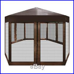 Pop-Up Gazebo Tent Outdoor Patio Deck and Backyard Canopy Shelter Picnic BBQ
