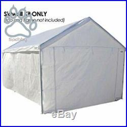 Portable Domain Carport Garage Wall Car Shelter Canopy