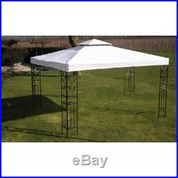Portable Garage Gazebo Carport Car Shelter Party Tent Canopy White Cover Outdoor