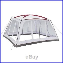 Portable Shade Canopy Mosquito Net Vented Gazebo Tent Outdoor Screen House 14x12
