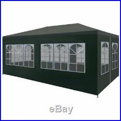 Portable Shelter Enclosure Garage Gazebo Car Port Window Canopy 10x20' Side Wall