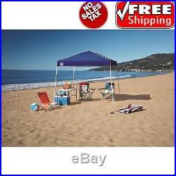 Portable Sport Canopy Tent 10x10 Outdoor Picnic Patio Beach Garden BBQ Sun Shade