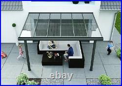 Premium Solarglas PS-180M Solarmodul für Solarfassade Solarcarport + Solarbalkon