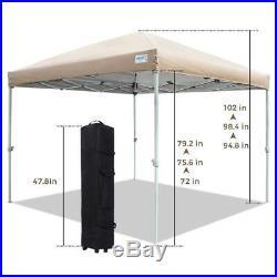Quictent 10X10/8X8 Pop Up Canopy Outdoor Canopy Folding Gazebo Wedding Canopy US