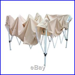 Quictent 10x10 Ez Pop Up Gazebo Party Tent Canopy mesh Screen With Carry Bag