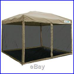 Quictent 10x10 Ez Pop Up Gazebo Party Tent Canopy mesh Screen With Groundsheet
