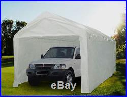 Quictent 20 x10 Heavy Duty Portable Garage Carport Car Shelter Canopy White