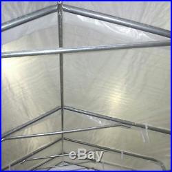 Quictent 20x10 Heavy Duty Portable Garage Carport Car Shelter Canopy party tent