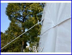 Quictent 32'x20' Heavy Duty Carport Party Wedding Tent Canopy Gazebo White