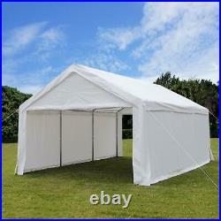 Quictent Heavy Duty 13x20 ft Garage Carport Canopy Tent Car Shelter Storage Shed