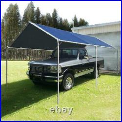 Quictent Outdoor 10'X20' Carport Garage Car Shelter Heavy Duty Blue Canopy Tent