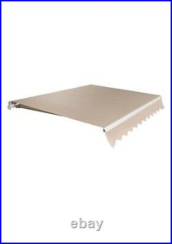 Read Description! BestChoice Products SKY2599 Retractable Awning Cover Beige