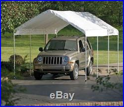 Replacement Canopy Valance Top Fits 12 X 20 2 O. D. Shelterlogic Frames-White