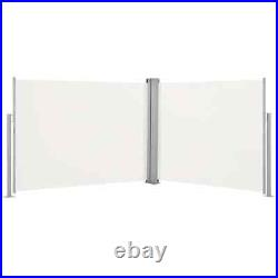 Retractable Side Awning 67x 393.7 Privacy Screen Retractable Fence Shade Blind