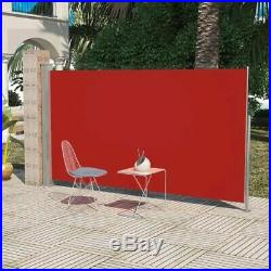 Retractable Side Awning Wall Shade Blind Privacy Screen Patio Terrace Outdoor