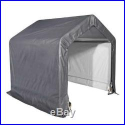 Riding Lawn Mower Storage Shed Outdoor Garden Portable Garages And Shelters