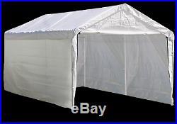 SIDE Canopy Enclosure Kit 12x20 Shelter Portable UV Protection Garage Car Port