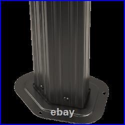 SOJAG Komodo Hardtop Gazebo, 12 ft. X 15 ft. Dark Gray