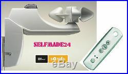 Set Wind-/Sonnenautomatik Somfy Soliris RTS LED + Handsender Telis Soliris RTS