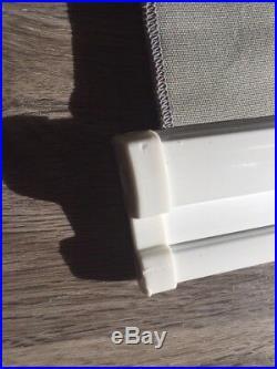 ShadeTree Retractable Canopy SHADES, Gray / Tan (LOT OF 4) 30 W x 150 L