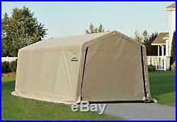 ShelterLogic 10 x 20- Feet New Auto Shelter, Tan