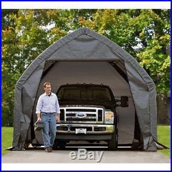 ShelterLogic 13 x 20 x 12 ft. SUV/Truck Garage-in-a-BoxT, Gray, 20 x 13
