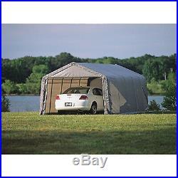 ShelterLogic 13ft. W Peak-Style Portable Garage/Carport- 20ft. L x 13ft. W x 10ft. H