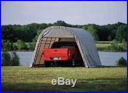 ShelterLogic 13x20x10 Truck Shelter Portable Garage Steel Carport Canopy 73332