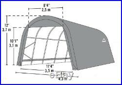 ShelterLogic 14x28x12 Truck Shelter Portable Garage Steel Carport Canopy 95333
