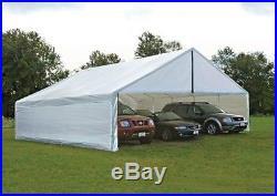 ShelterLogic 30x40 White Canopy Enclosure Kit 27776 Canopy NEW