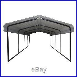 ShelterLogic Arrow 12 x 20 ft. Carport, White, 12 by 20 by 7