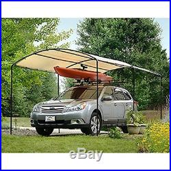 ShelterLogic Canopy Tent Outdoor Sun Protector Shade Shelter 9 X 16 FT Sandstone