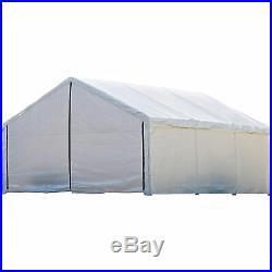 ShelterLogic Enclosure Kit for Super Max 20ft. X 18ft. Outdoor Canopy White