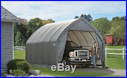 ShelterLogic Garage-In-A-Box SUV, Truck Garage & Shelter, Gray 13 x 20 x 12-Feet