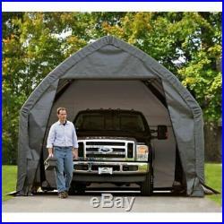 ShelterLogic Garage-in-a-Box SUV/Truck Shelter Grey 13 x 20 x 12 ft. Steel Frame