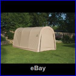 ShelterLogic Roundtop Instant Garage Auto Shelter 10' x 15' x 8' 62689 Sandstone