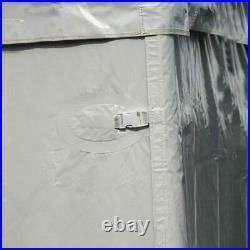 Standard 20x30' Tent Side Wall 7'H Waterproof Vinyl Solid Cathedral Window Walls