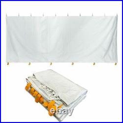 Standard 8' x 20' Tent Side Wall Solid Vinyl Event Party Canopy Waterproof Side