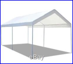 Steel Frame 10x20 Party Tent Canopy Portable Car Carport Shelter Garage Cover US