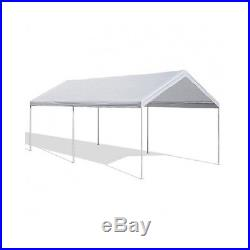 Steel Frame Canopy 10 x 20 Shelter Portable Carport Car Garage Cover Party Tent