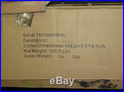 Sunjoy Semi-Cassette 16ft. W x 10ft. D Awning Color Antracita