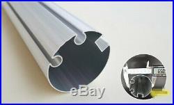 TAN 13×11.5ft Manual Retractable Awning Aluminium Frame canopy Patio Cover