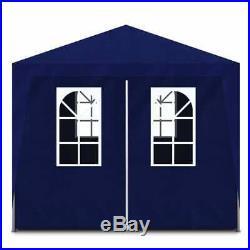 VidaXL Outdoor Party Tent Blue Gazebo Canopy Pavilion Cater 8 Walls Garden