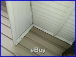 WHITE 42 w x 36 p x 15 d Aluminum Awning / Door Awning kit 2019 SPRING SALE